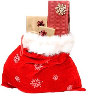 julklappar i säck